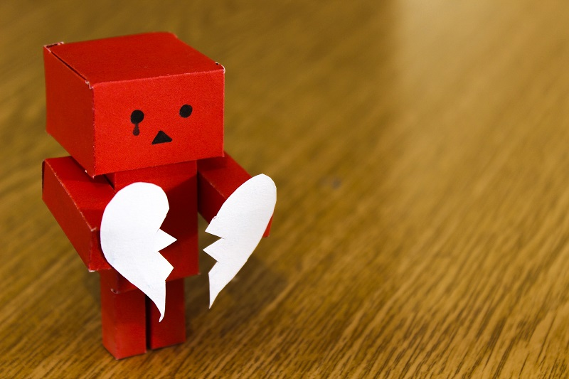falling out of love with your business - Business help and support UK