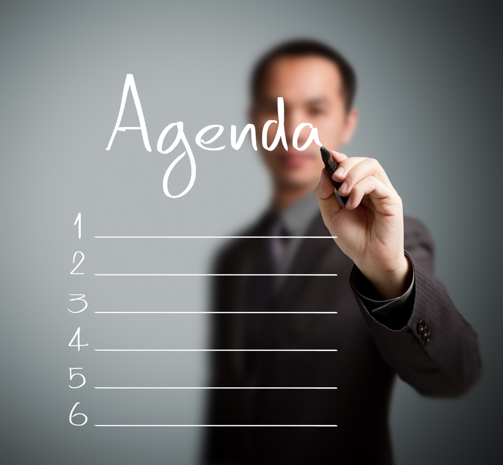 What should be on my Board Agenda Proactions Business – Agenda