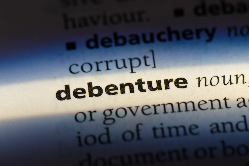 debenture definition small businesses